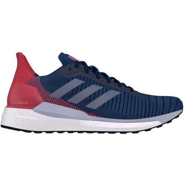 adidas Solar Glide 19 Running Shoes - UK 8 collegiate navy/grey