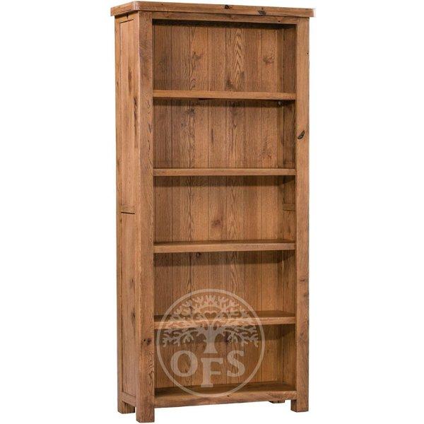 Huari Oak Large Bookcase
