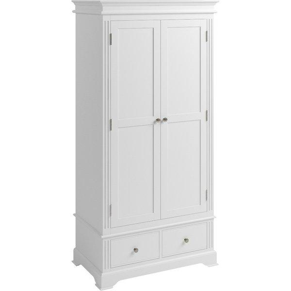 Grace White 2 Door Wardrobe