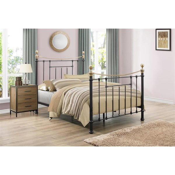 Alabama Black King Size Bed