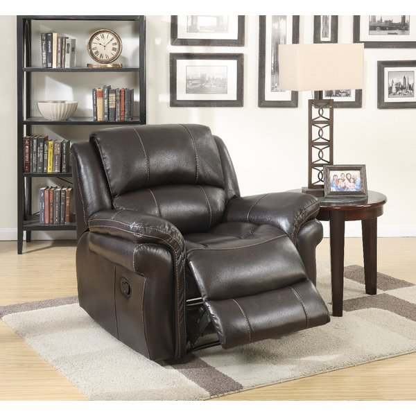 Finchley Brown Leather Armchair