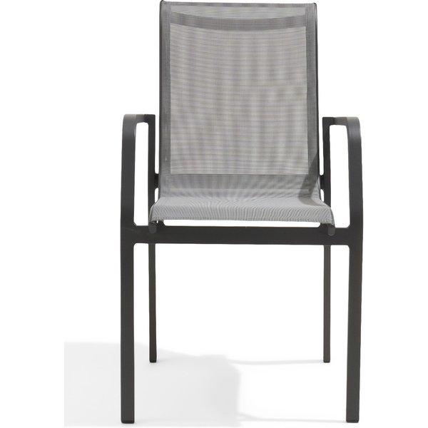 Calla Grey Garden Chairs - Grey, 2 Chairs
