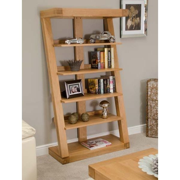 Infinity 165cm Solid Oak Bookcase