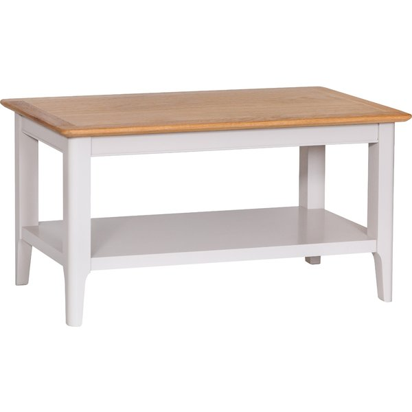 Daniella Oak and Grey Small Coffee Table