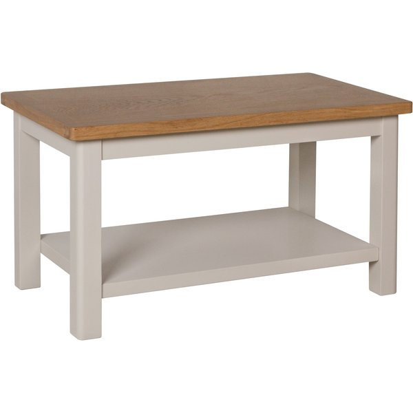Cole Oak and Truffle Grey Small Coffee Table