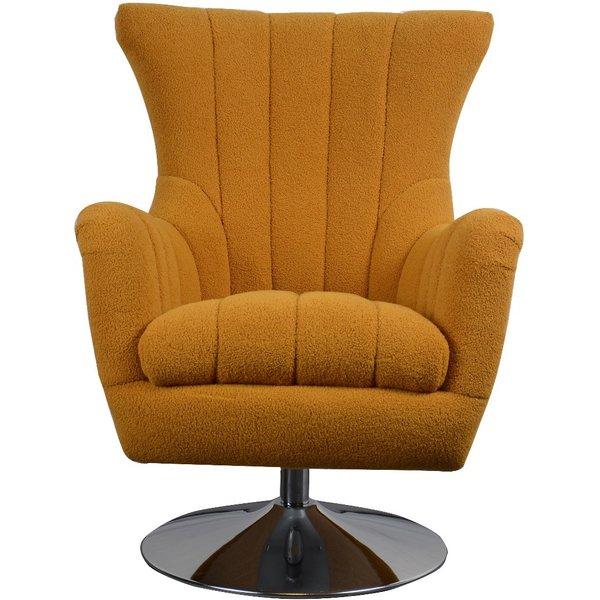 Morteson Saffron Swivel Chair