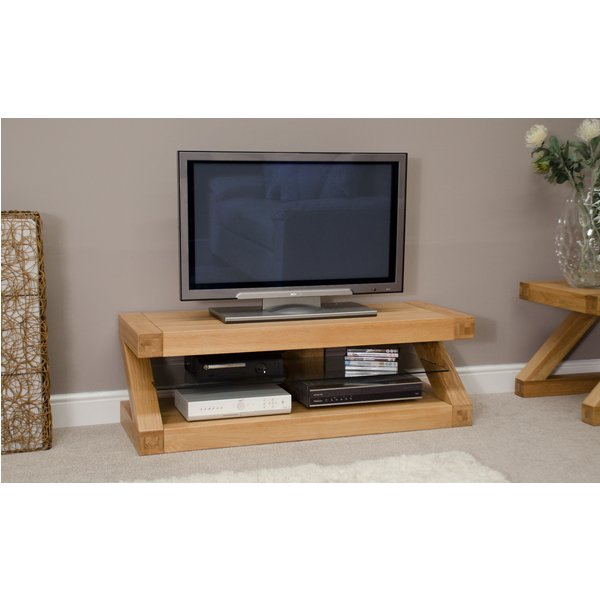 Infinity 120cm Solid Oak TV Unit