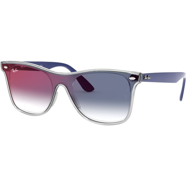 Ray-Ban Blaze Wayfarer Rb 4440N 6356X0 41 Sunglasses Transparent Unisex