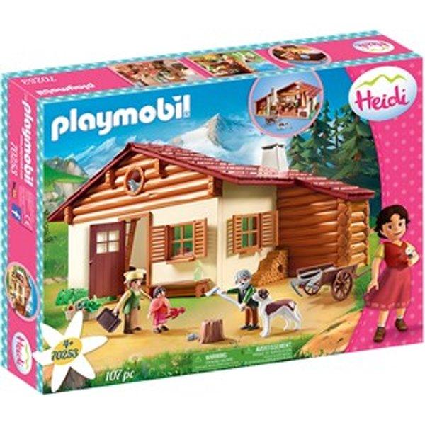Playmobil 70253 Heidi et grand-père Chalet