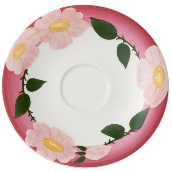 Villeroy & Boch Rose Sauvage framboise Frühstücks-Untertasse 16 cm