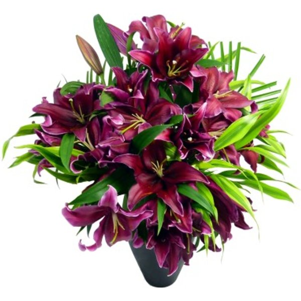 Deluxe Pink Lily Bouquet