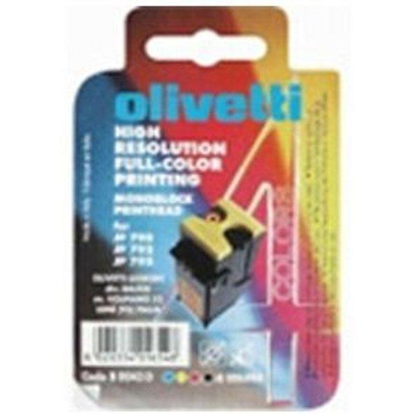 Olivetti - jaune, cyan, magenta - originale - cartouche d'encre