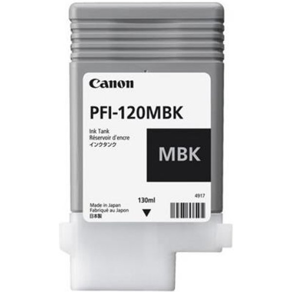 Canon PFI-120MBK Matte Black Ink Cartridge (Original)