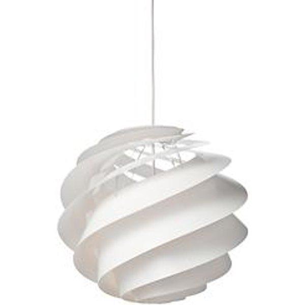 Le Klint - Swirl 3 Hängeleuchte - weiß - L - indoor