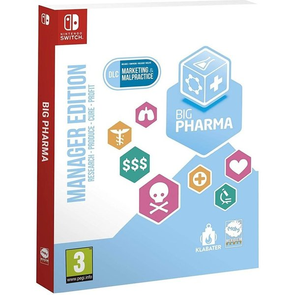 Big Pharma Special Edition (Nintendo Switch)