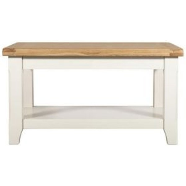 29. Harmony Small Coffee Table with Shelf: £119, QD stores