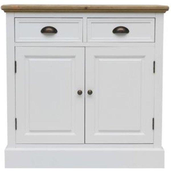 8. 2 Drawer 2 Door Country Basket Sideboard: £119.99, QD stores