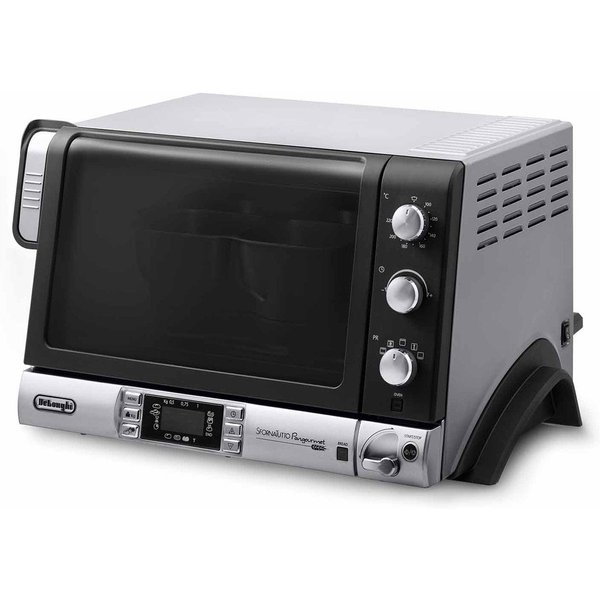 1. DeLonghi EOB20712 Pangourmet Digital Electric Oven and Bread Maker 20L 1400W - Silver/Black: £95.49, Robert Dyas