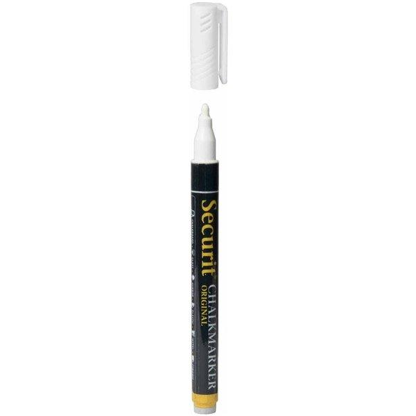 Securit 6mm Liquid Chalk Pen White