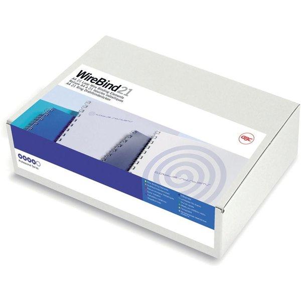 GBC IB165320 12mm Black Wire Binders