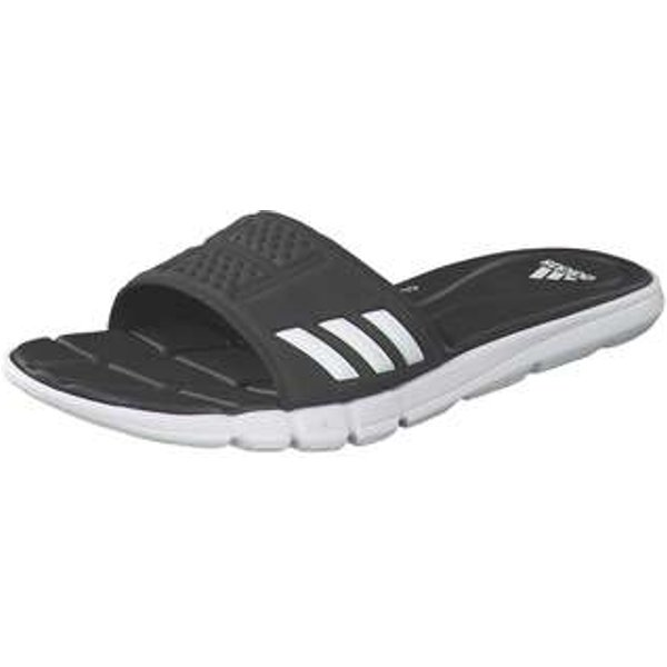 adidas Adipure CF Badepantolette Damen schwarz