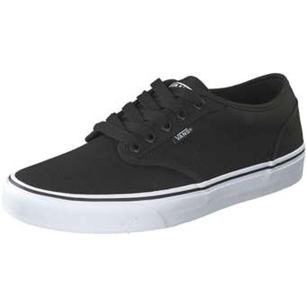 Vans Men's Atwood Canvas Trainers, Black in Black