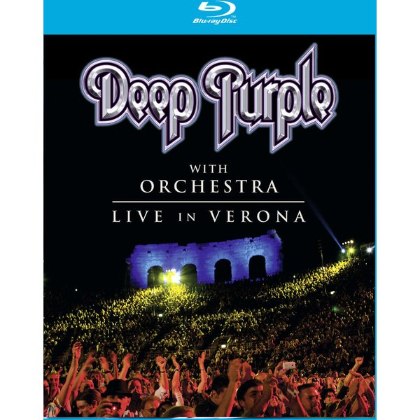 Live in Verona with orchestra Blu-Ray