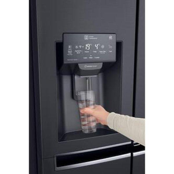 LG GSX960MCVZ InstaView American Fridge Freezer in Black Ice Water PL