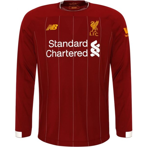 New Balance Liverpool Home L/S Trikot 2019-2020 - L