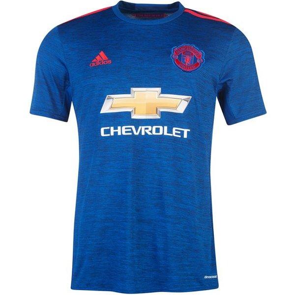 2016-2017 Man Utd Adidas Away Football Shirt (Kids)