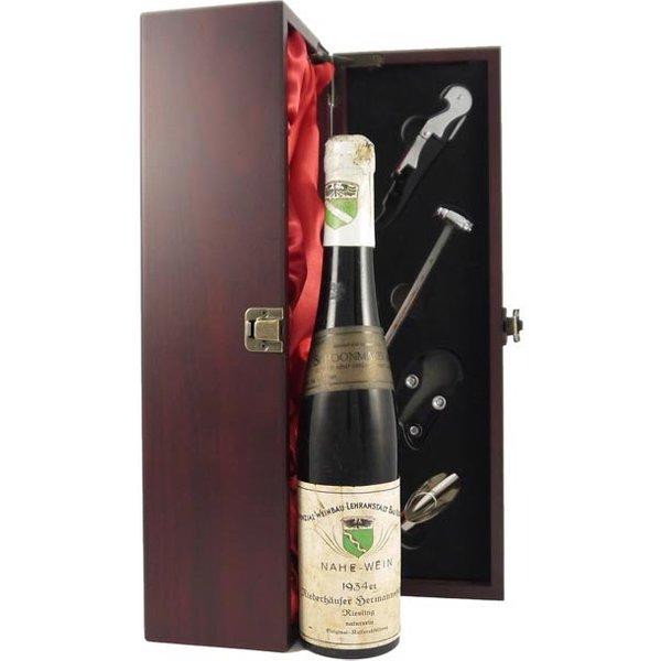 1934 Niederhäuser Hermannshöhle 1934 Riesling (1/2 bottle)