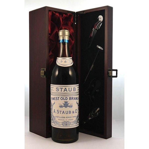 1900's A Staub & Co Finest Old Brandy 1900's
