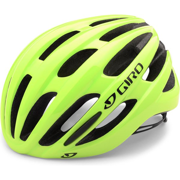 Giro Foray Road Helmet  Medium 55-59CM - HIGHLIGHT YELLOW