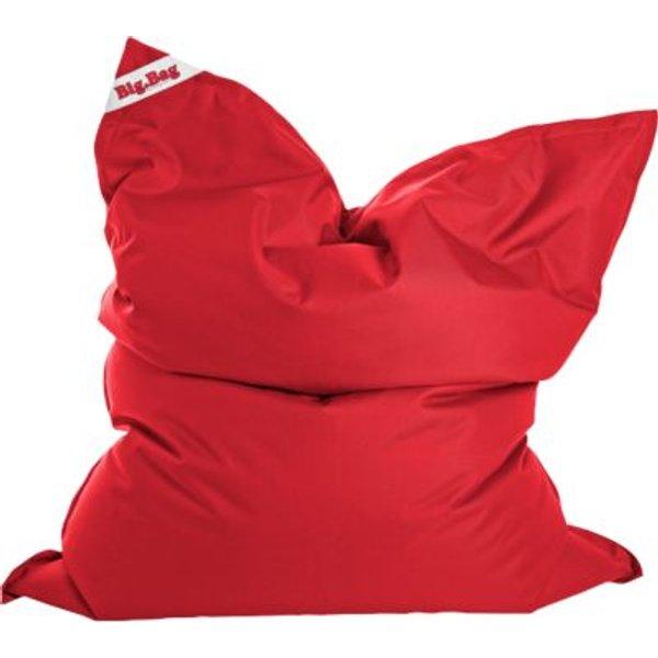 Sitzsack BigBag BRAVA, 130 x 170 cm, tomate rot