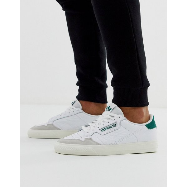 adidas CONTINENTAL VULC men's Shoes (Trainers) in White