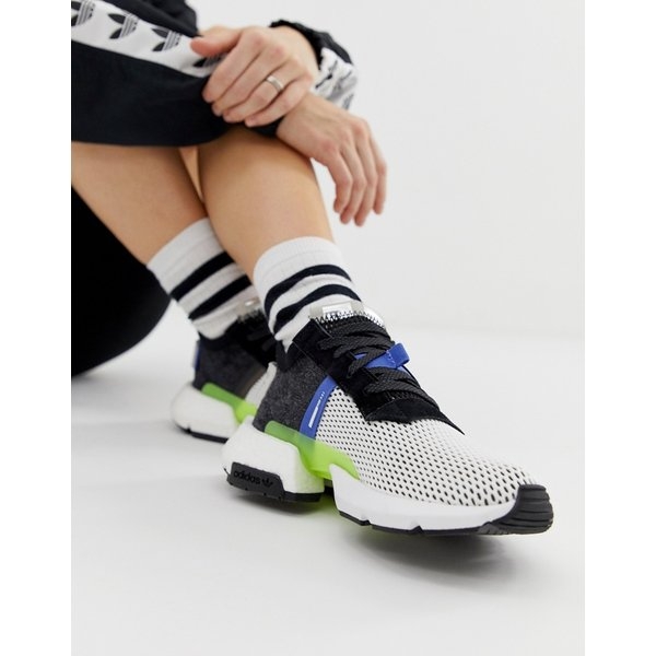 Adidas Originals Pod S3.1 Sneakers Core BlackReal LilacShock Red