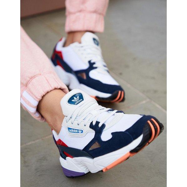 adidas Originals Falcon Sneaker Damen Weiss Blau