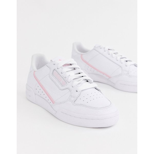 adidas Originals - Continental 80 - Baskets - Blanc et rose