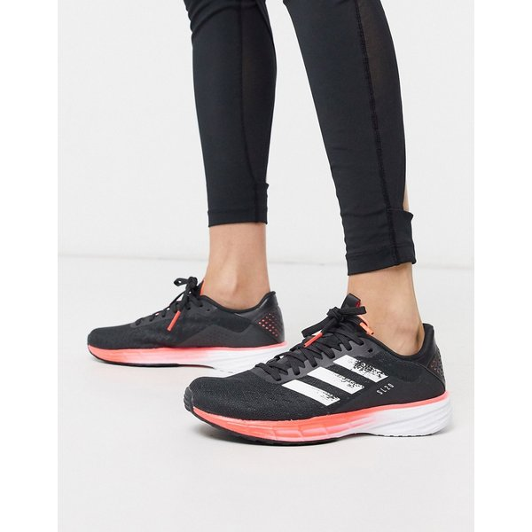 adidas Women's SL20 Running Shoes - UK 4 Black/ White/ Coral ...