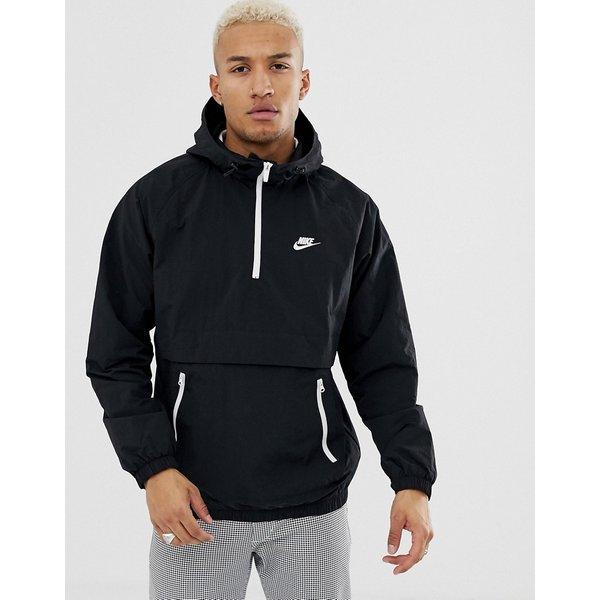 Nike NSW CE HD WVN BlackWhite Jackets Batzo Price