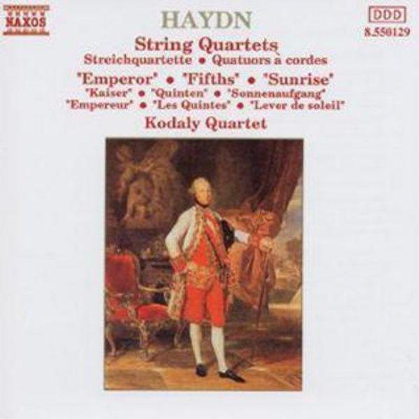 Streichquartette 61-63