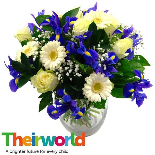 Baby Boy Flowers with Theirworld