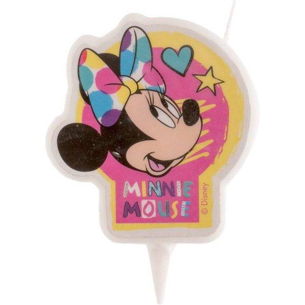 Bougie Minnie 2D pour gateau