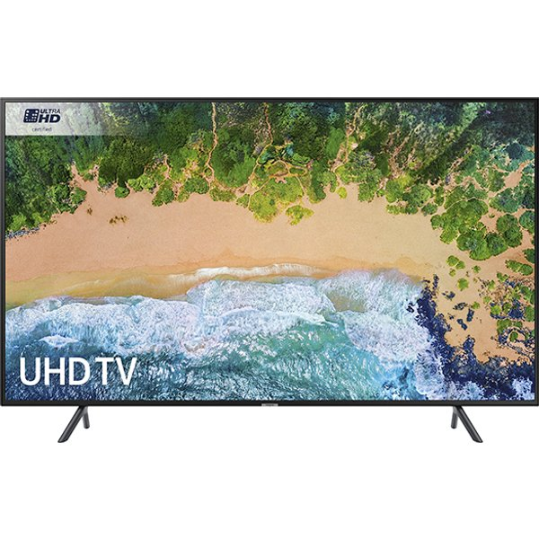 8. Samsung UE43NU7120KXXU 43 inch Ultra HD HDR Smart TV Cable Management: £679.99, Electricshop