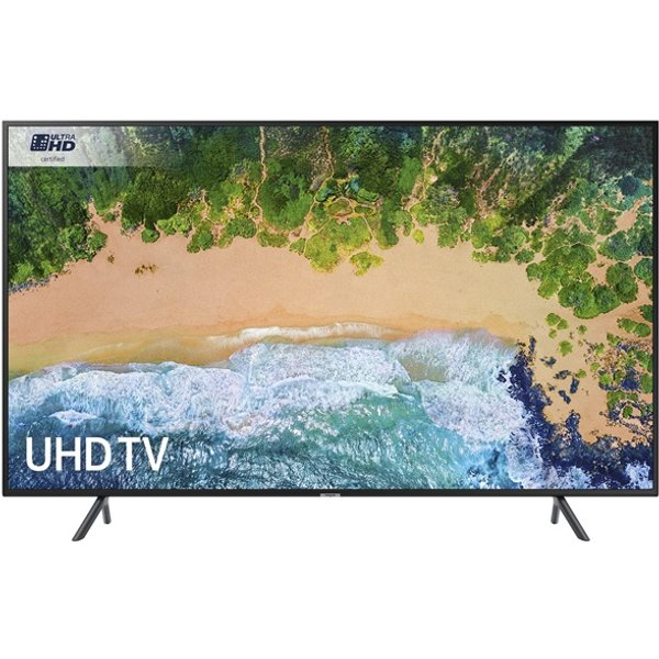 7. Samsung UE49NU7100KXXU 49 inch Ultra HD HDR Smart TV Cable Management: £749.99, Electricshop
