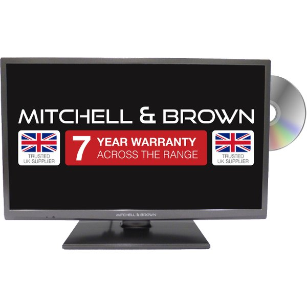 16. Mitchell & Brown JB-241811FSMDVD Smart TV with Built in DVD Player: £269.99, Electricshop