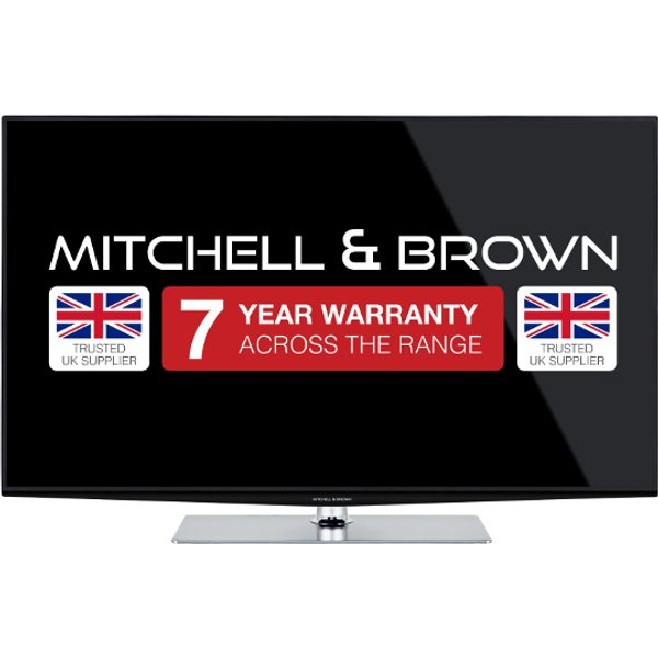 44. Mitchell & Brown 43 inch 4K Ultra HD Smart TV with Built in WiFi: £599.99, Electricshop