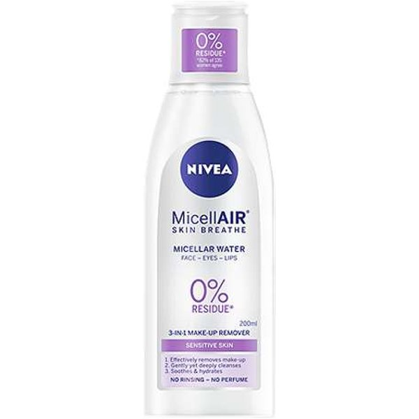 Nivea Daily Essentials Sensitive 3-in-1 Micellar Water - 200ml