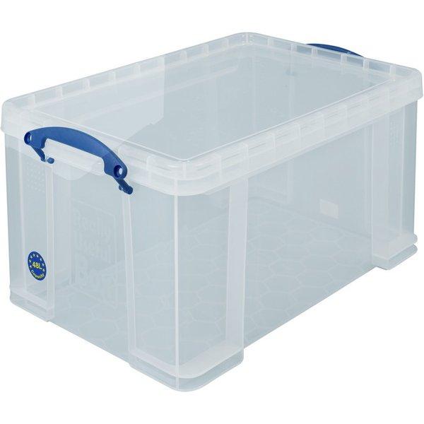 Für Transparenz in der Aufbewahrung: Die Aufbewahrungsbehälter Really Useful Box® Diese stabilen und