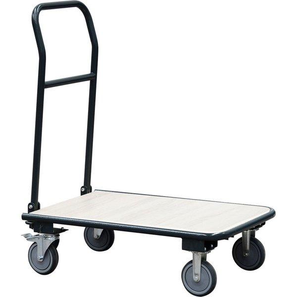 Der BASIC Transportwagen mit 150 kg Tragkraft – mit Klappgriff für platzsparendes Handling Flexibel